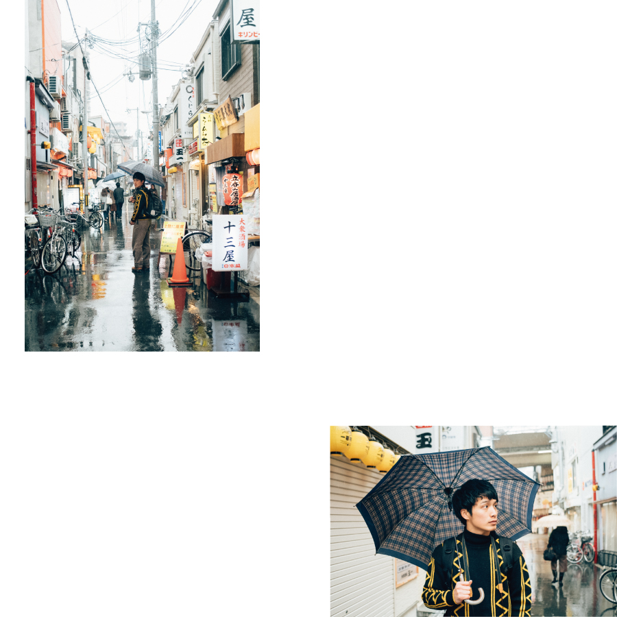 作品「rain day」