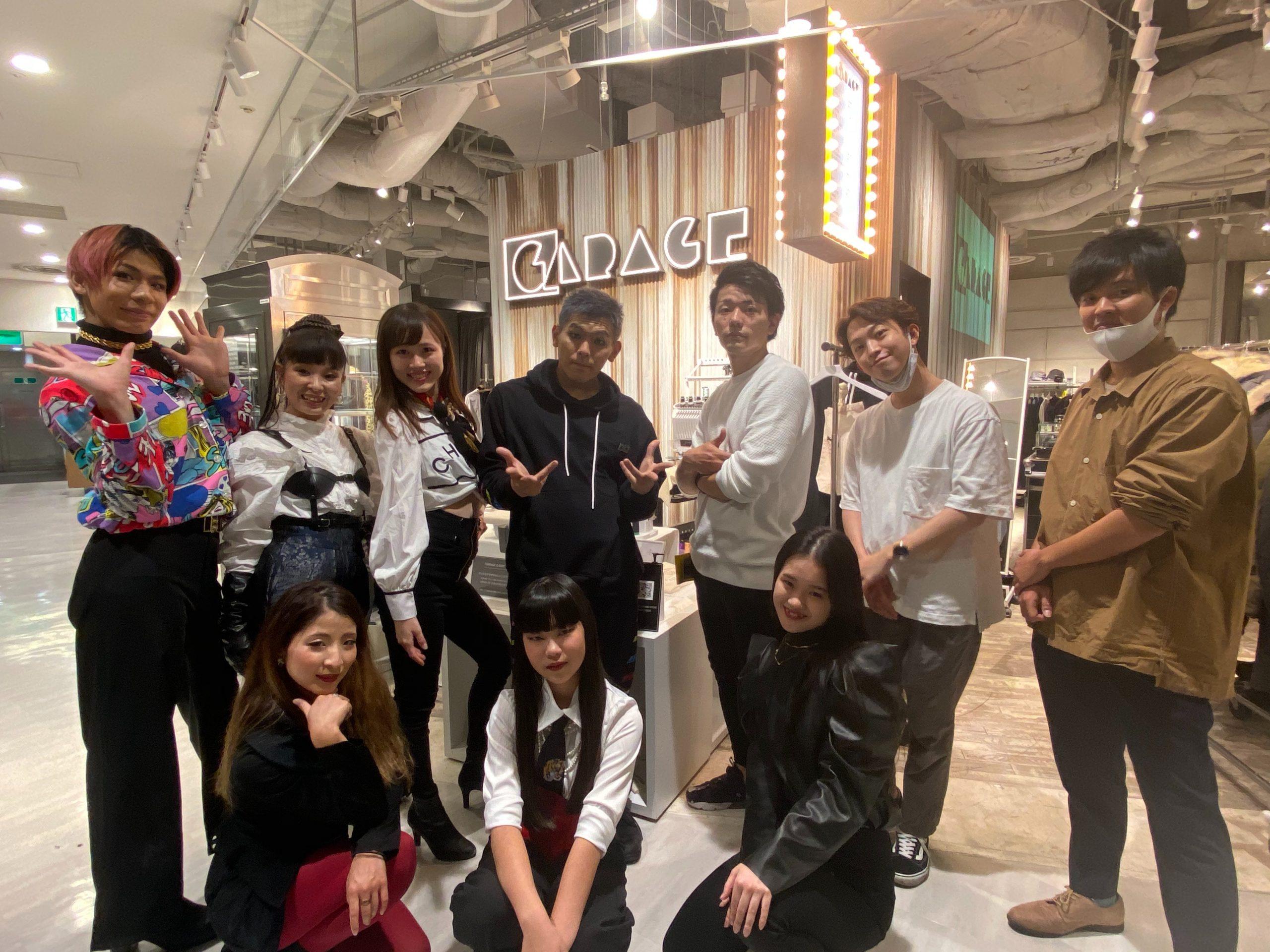 阪急メンズ大阪様のイベント「HANKYU.MODE ONLINE FES」にてダンサーShowTaさんを撮影